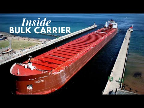 How it looks inside Bulk Carrier?