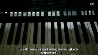 Sammple musik Rampak style manual bajidoran beuleukuk