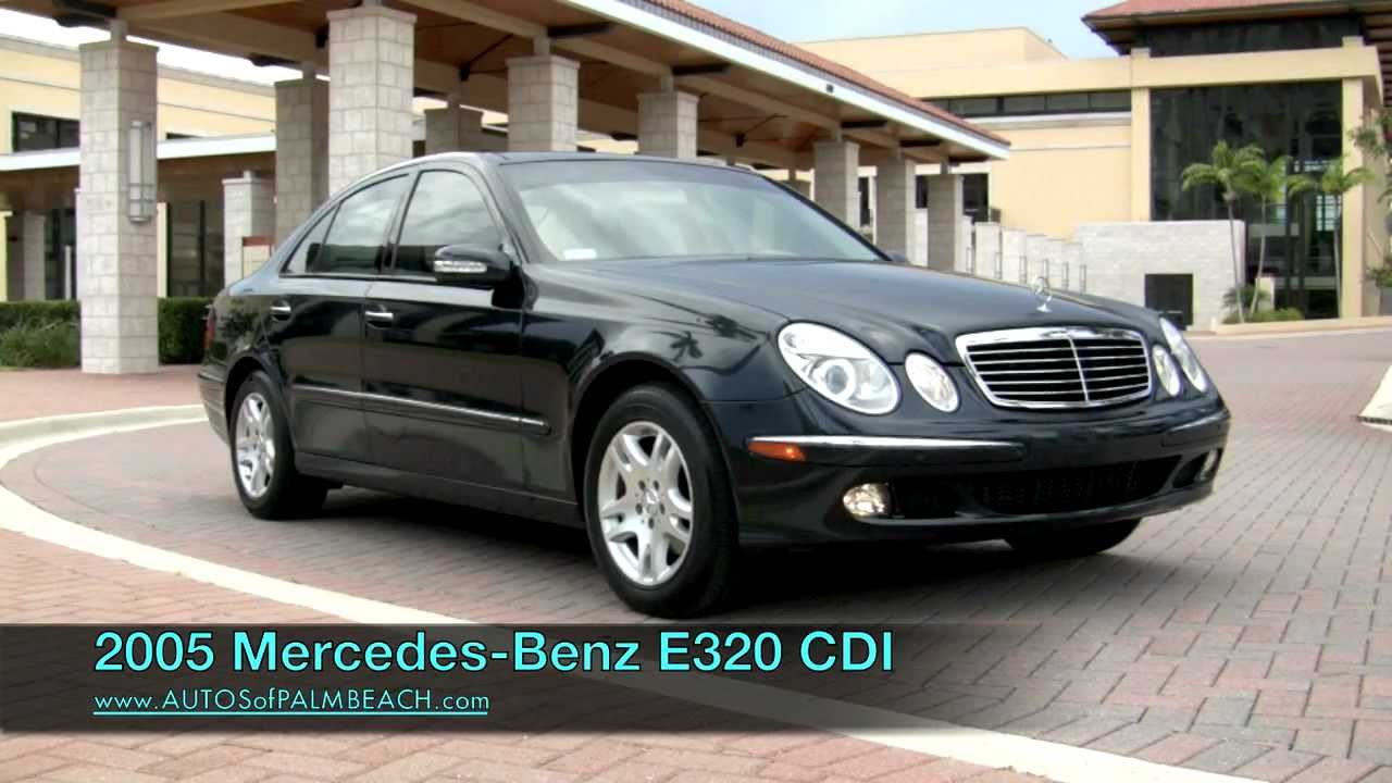 2005 mercedes-benz e320 cdi turbo-diesel a2682 - youtube