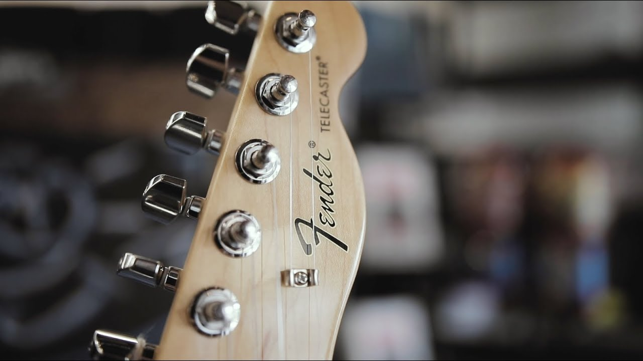 Fender Telecaster Giveaway Winner Announcement!