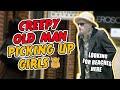 Creepy Old Man Picking Up Girls (Prank Gone Wrong)