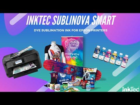 Dye Sublimation Ink SubliNova Smart for Epson Printers 6 Colours Pack