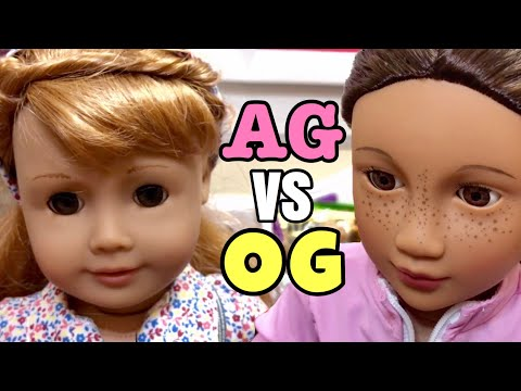 American Girl Vs. Our Generation Dolls