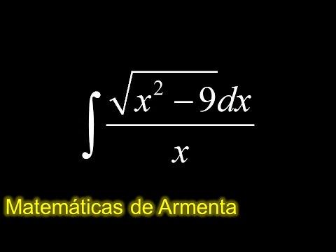 integracion por sustitucion trigonometrica ejemplo 5