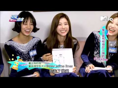 151207 TWTV Idols Of Asia Girl's Day Interview English Sub 2/4