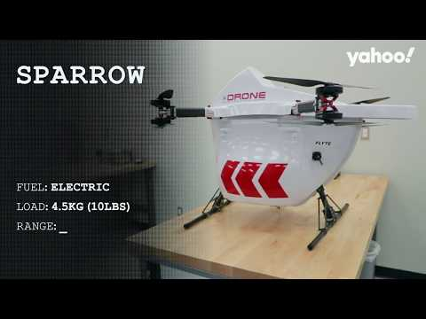 Drone Delivery Canada Featured By Yahoo Finance