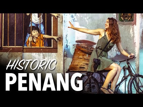 30 Days In PENANG - George Town Malaysia Street Art