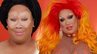 ORANGE DRAG QUEEN TRANSFORMATION | PatrickStarrr