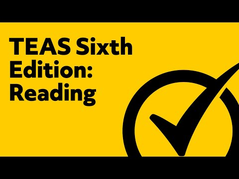 Great TEAS Test Version 6 Reading Study Guide