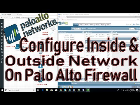 How to configure palo alto firewall step by step: Palo Alto firewall on EVE-NG - Inside Outside Net
