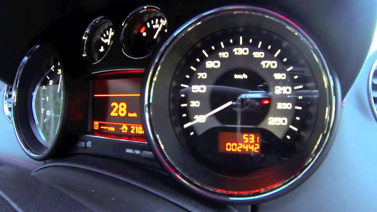 peugeot rcz r acceleration motorsport youtube
