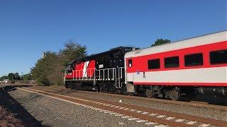 Amtrak Northeast Regional & CTrail Hartford Line Trains @ Wallingford (6/4/19)