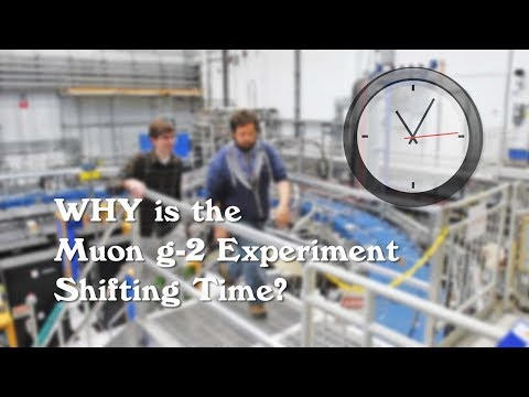 Why is the Muon g-2 Experiment Shifting Time?