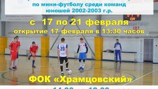 Оргхим Первенство России по мини футболу среди юношей 2002 2003 г р зона Сибирь