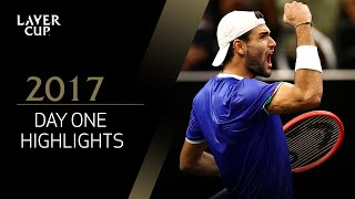 Highlights of a spectacular Opening Day | Laver Cup 2017