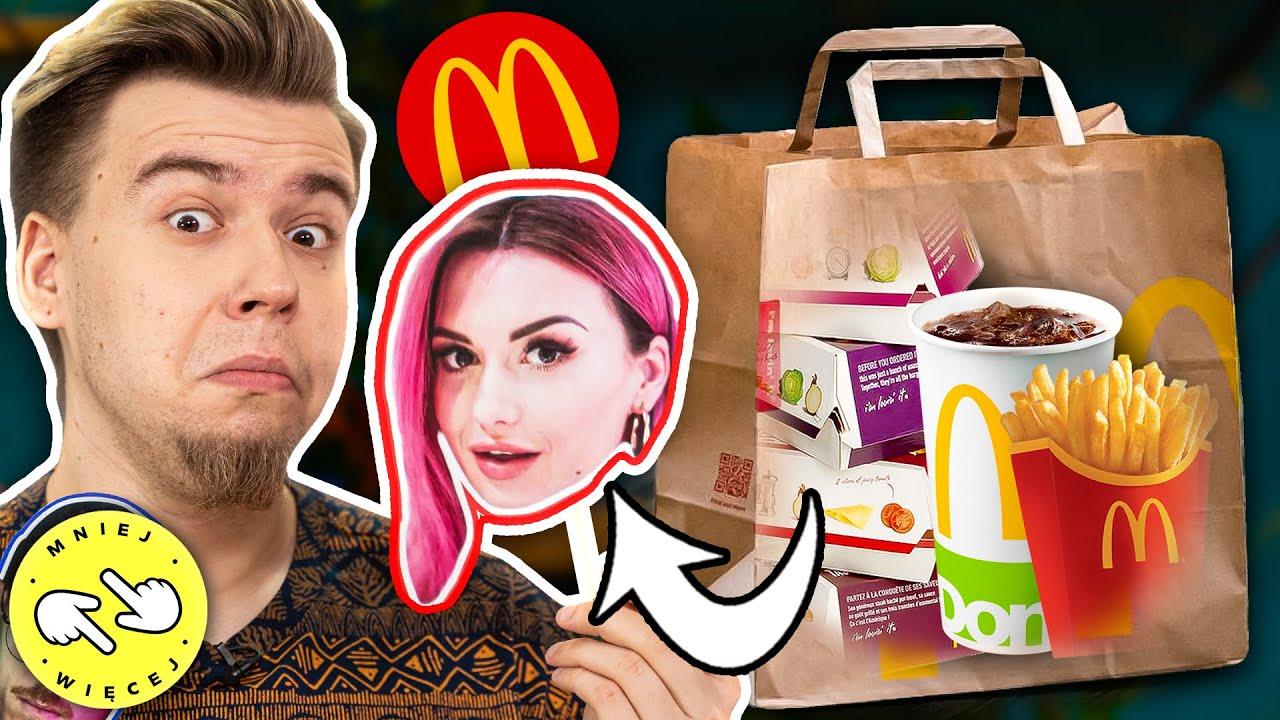 Zgadujemy Zamówienia YouTuberów z McDonald's