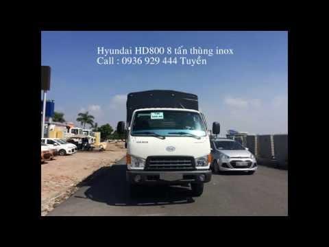 GI XE HUYNDAI 8 TN NNG TI, Hyundai HD800 Veam HD800 Hyundai HD101  Th nh