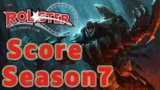 KT Rolster Score Rengar Jungle vs Leesin Patch 6.24