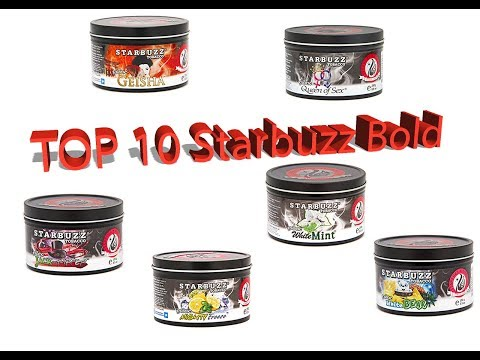 Top 10 Starbuzz Bold Shisha Tobacco Flavors for your Hookah!