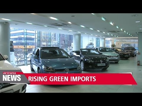 Imported hybrid cars hot sellers in Korea