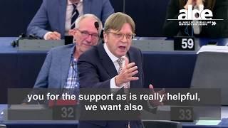 Guy Verhofstadt on SOTEU 13 September 2017 - subtitled plenary speech