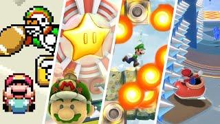 Evolution of Hardest Levels in All Super Mario Games (1985-2021)