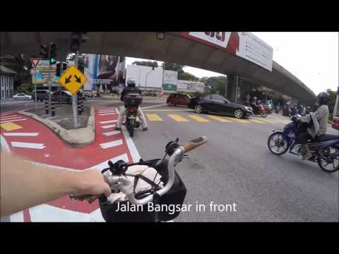 Accident during Brompton Bicycle Commute