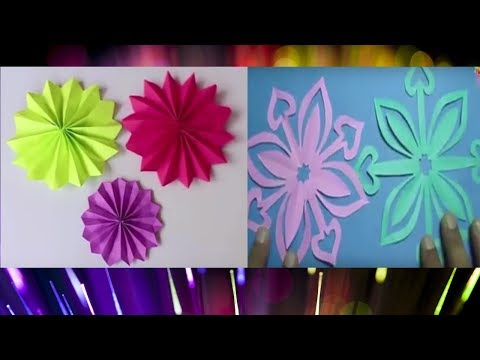How to make papercraft flowers#2