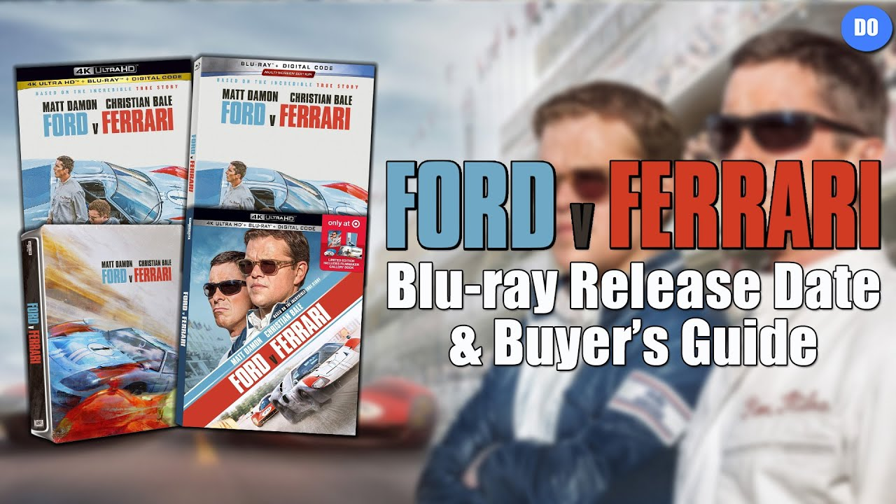 Ford V Ferrari Blu Ray Release Date Buyer S Guide Youtube