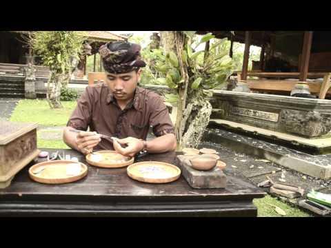 Balinese Traditional Handmade Jewelry Creation