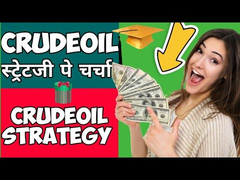 🔴🔴Crude oil|Crudeoil Strategy|स्ट्रेटजी पे चर्चा |How to trade Crudeoil|How to backtest strategy|