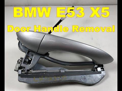 Bmw X5 Exterior Door Handle Removal E53 Passenger