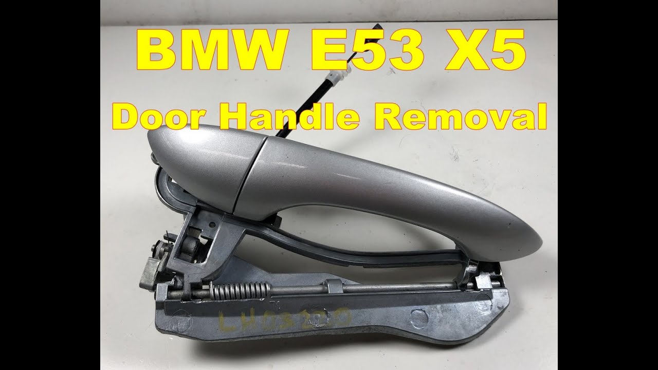 maxresdefault bmw x5 exterior door handle removal e53 passenger youtube E46 BMW 330Ci Engine Diagram at readyjetset.co