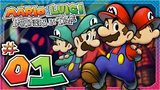 Mario Luigi Partners In Time - Part 1: A Tale of The Past!