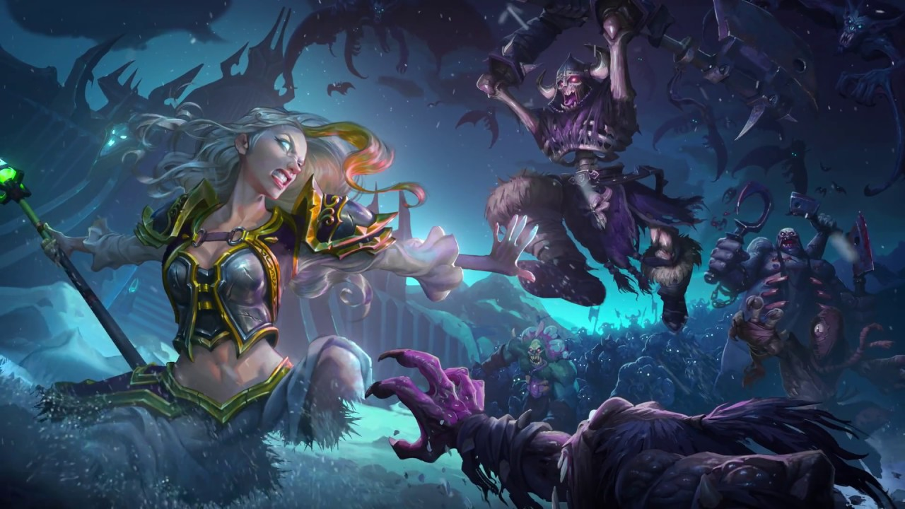 Knights Of The Frozen Throne Wallpaper: Hearthstone Knights Of The Frozen Throne Cinematic