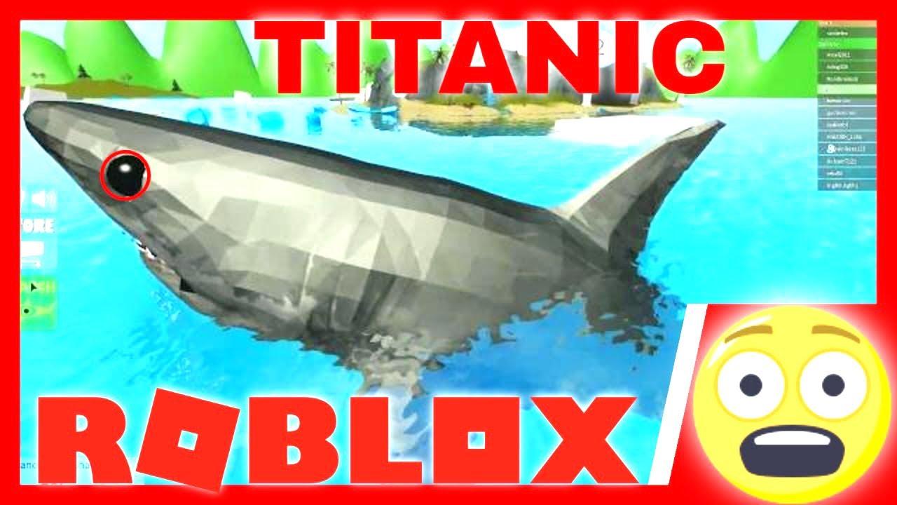 Sharkbite Titanic Update Explore The Island Roblox Youtube