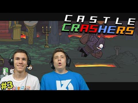 MEGÉRKEZTÜNK A TŰZ FÖLDRE!   Castle Crashers #3