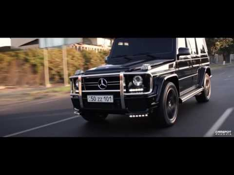 Mercedes G63 AMG.Video By Carspot Armenia.Music By Arman