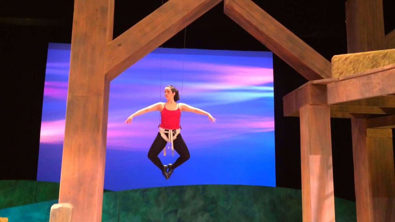 See actress learn to 'fly' for WMU's 'Charlotte's Web'