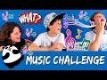 THE MUSIC CHALLENGE * Adivina nuestras CANCIONES FAVORITAS