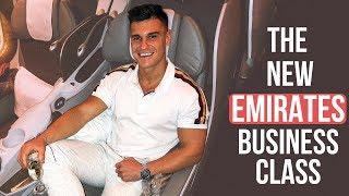 INCREDIBLE EMIRATES BUSINESS CLASS FLIGHT | Dublin To Dubai