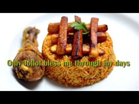 HILARIOUS! Fantan Mojah-Thanks and Praise mix (Only Jollof bless me)