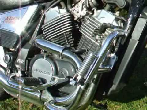 honda vt 500 custom 39 87 hun youtube. Black Bedroom Furniture Sets. Home Design Ideas