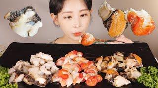 촛대고둥, 털고둥, 뿔소라 3종 세트 먹방! RAW CONCH [eating show]mukbang korean food