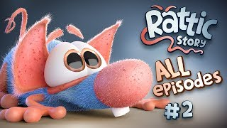 Rattic | Cartoon Compilation | Funny Cartoons For Kids | New Cartoons 2018