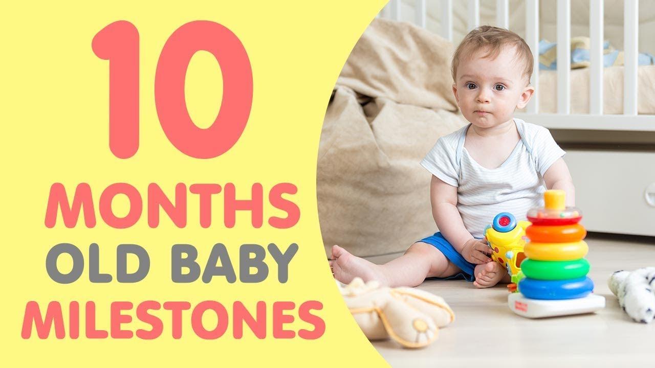 10 Month Old Baby Milestones Youtube