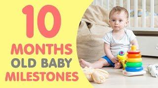 10 Month Old Baby Milestones