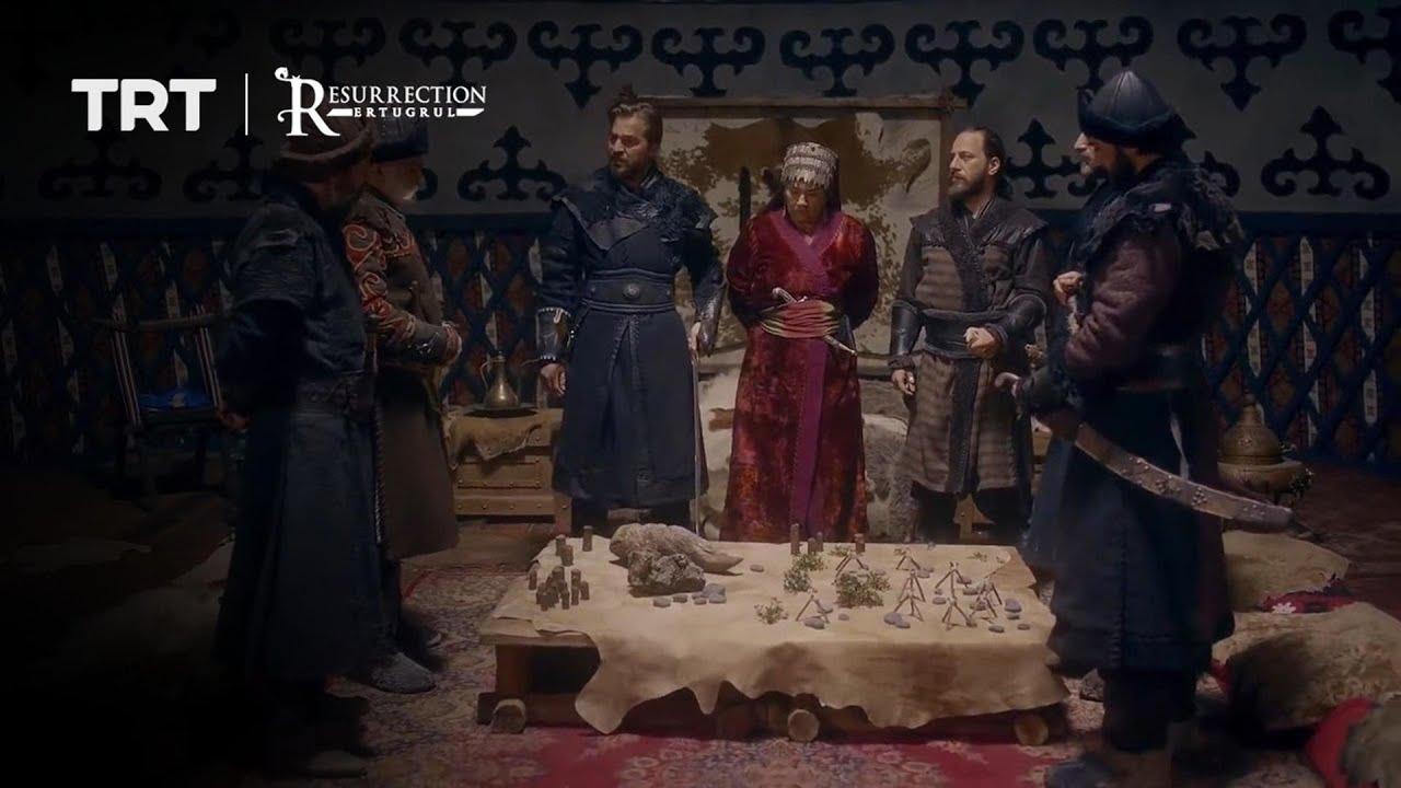 Ertugrul and Gundogdu plan an attack against Noyan