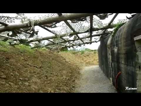 Bunker de guerra nazi en Normandia , segunda guerra mundial ( fortificacion muro atlantico )