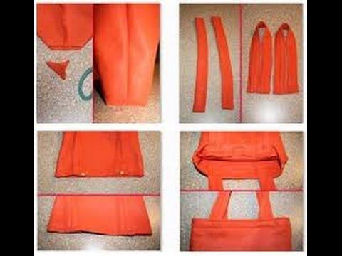 Como hacer bolsos de tela youtube - Como hacer un estor de tela ...